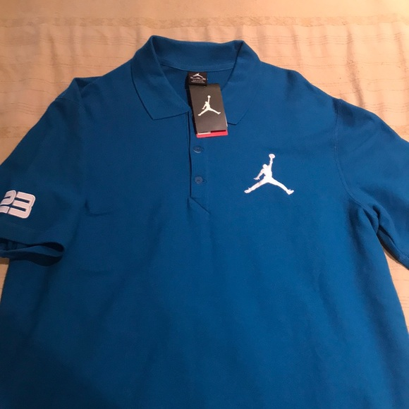 7a7590fd660c (NWT) Men s Nike Jordan short sleeve polo